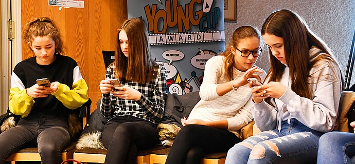 Konzentration: Workshop für den YoungClip-Award in Niederseelbach